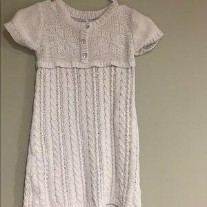 💥10/10-Savannah cream snowflake sweater dress